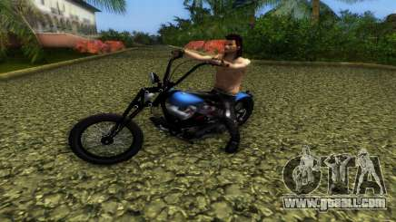 Harley Davidson Shovelhead for GTA Vice City