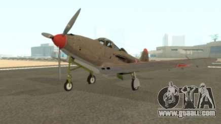 Aircobra P-39N for GTA San Andreas