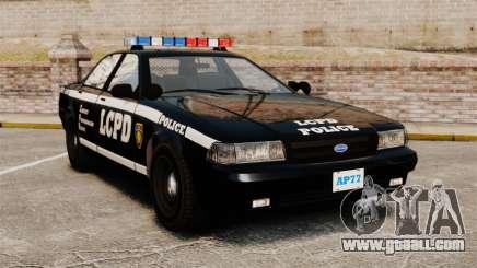 GTA V Vapid Police Cruiser [ELS] for GTA 4