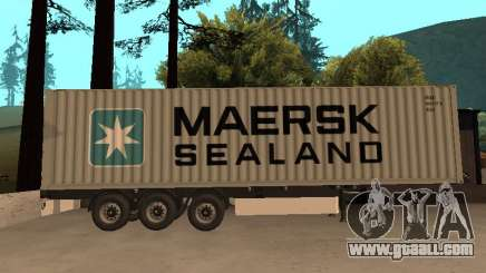 Trailer MAERSK for GTA San Andreas