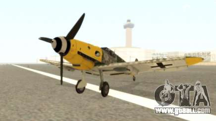 Bf-109 G6 v1.0 for GTA San Andreas