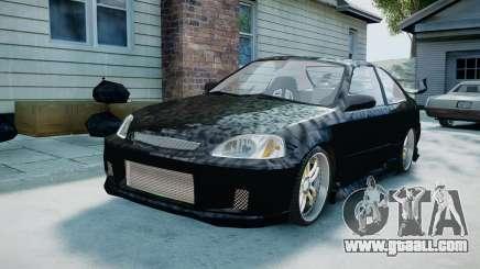Honda Civic FnF for GTA 4