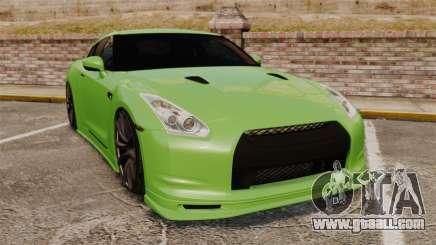 Nissan GT-R SpecV 2010 for GTA 4