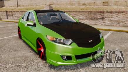 Acura TSX Mugen 2010 for GTA 4