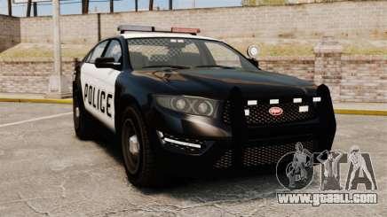 GTA V Vapid Police Interceptor [ELS] for GTA 4