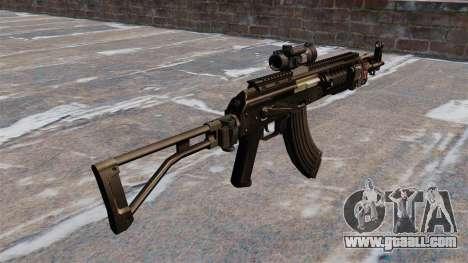Kalashnikov AK-47 Sopmod for GTA 4 second screenshot