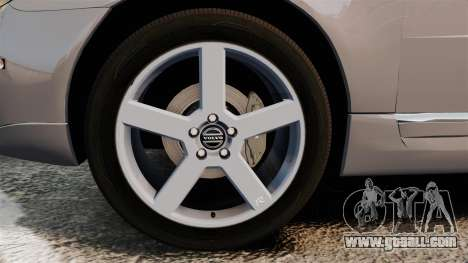 Volvo V70 Unmarked Police [ELS] for GTA 4 back view