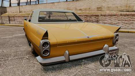Peyote 1950 for GTA 4 back left view