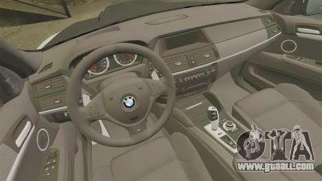 BMW X6 M HAMANN 2012 for GTA 4 side view