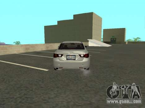 Toyota Mark X for GTA San Andreas right view