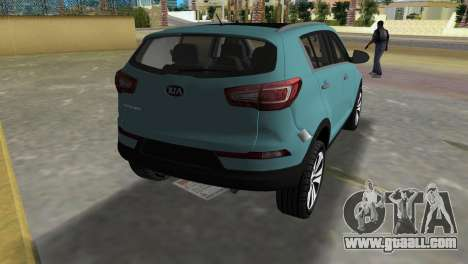 Kia Sportage for GTA Vice City back left view