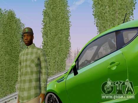 The Grove Street gang member of GTA 5 for GTA San Andreas third screenshot