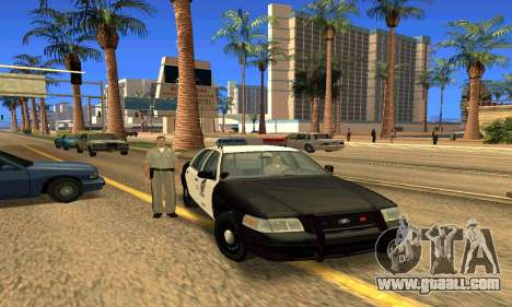 Ford Crown Victoria Police LV for GTA San Andreas