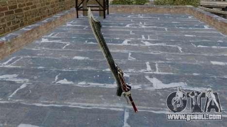 Sword-Red Queen- for GTA 4