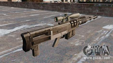 AS50 sniper rifle for GTA 4 second screenshot