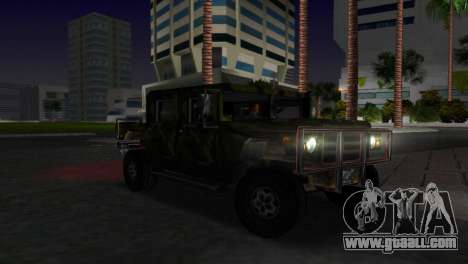 Russian Patriot texture for GTA Vice City back left view