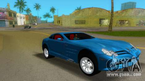 Mercedes-Benz SLR McLaren for GTA Vice City