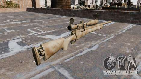 The M24 SWS sniper rifle for GTA 4 second screenshot