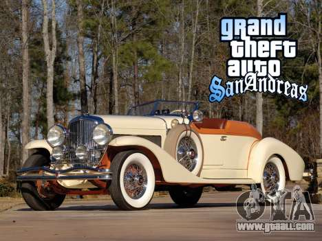 New loadscreen Old Cars for GTA San Andreas sixth screenshot