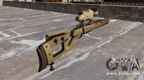 GOL sniper rifle-Sniper Magnum for GTA 4 second screenshot