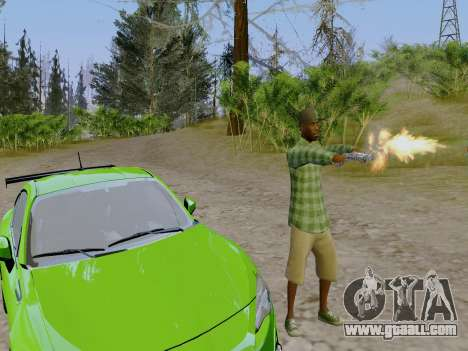 The Grove Street gang member of GTA 5 for GTA San Andreas forth screenshot