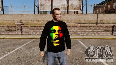 Sweater-Bob Marley- for GTA 4