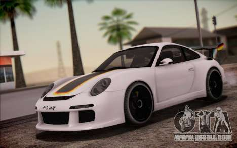 RUF RT12R for GTA San Andreas interior