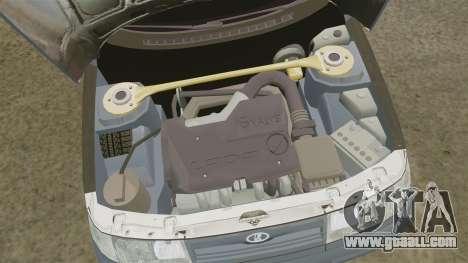 Vaz-2110 for GTA 4 back view