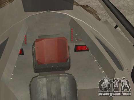 FARSCAPE modul for GTA San Andreas upper view