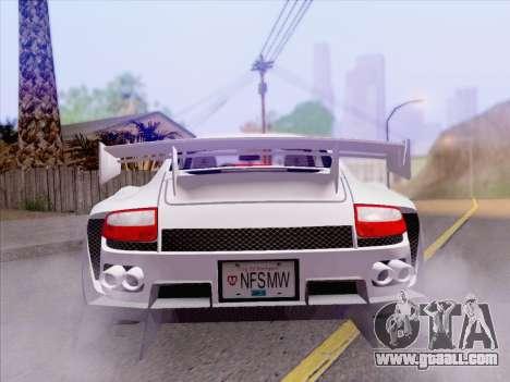 Porsche Carrera S for GTA San Andreas side view