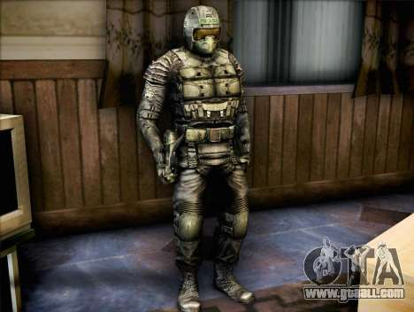 Military of call of Pripyat for GTA San Andreas second screenshot