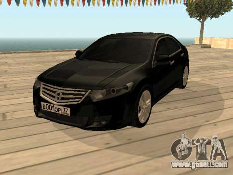 Honda Accord 2010 V2.0 for GTA San Andreas