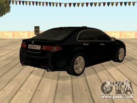 Honda Accord 2010 V2.0 for GTA San Andreas left view