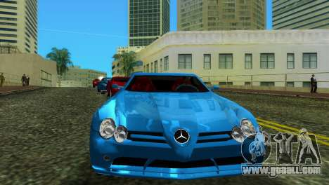 Mercedes-Benz SLR McLaren for GTA Vice City back left view
