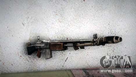 Browning M1918 for GTA San Andreas