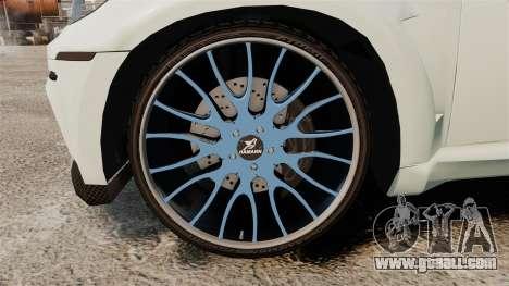 BMW X6 M HAMANN 2012 for GTA 4 back view