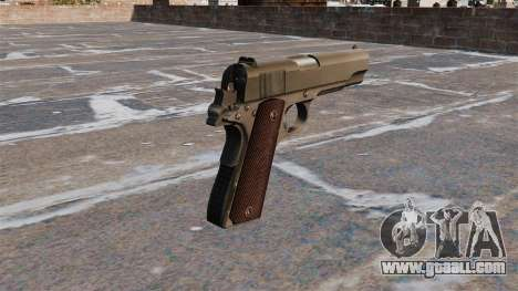 Colt M1911 Pistol for GTA 4 second screenshot