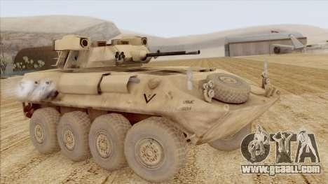 LAV-25 Desert Camo for GTA San Andreas