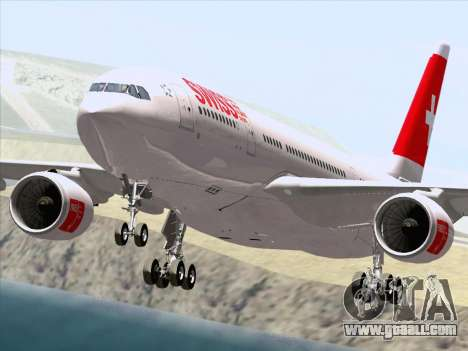Airbus A330-223 Swiss International Airlines for GTA San Andreas