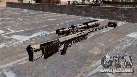 Barrett M95 sniper rifle for GTA 4 second screenshot
