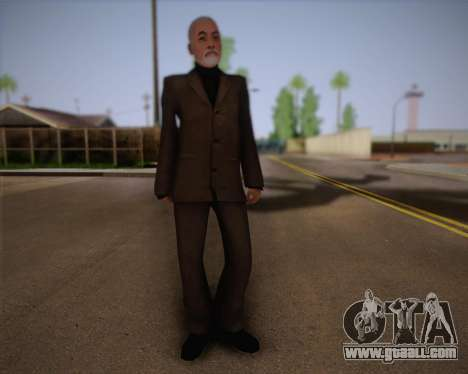 Dr. Breen for GTA San Andreas