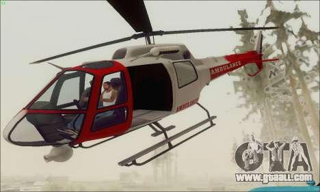 GTA V Ambulacia Maverick for GTA San Andreas