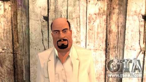 Joseph Clarence for GTA San Andreas third screenshot
