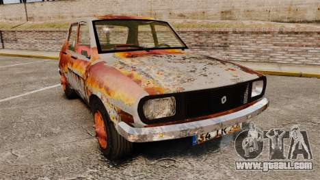 Renault 12 Toros v2.0 Rusty for GTA 4