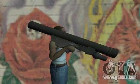 ATGM Launcher for GTA San Andreas third screenshot