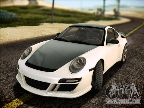RUF RT12S for GTA San Andreas bottom view