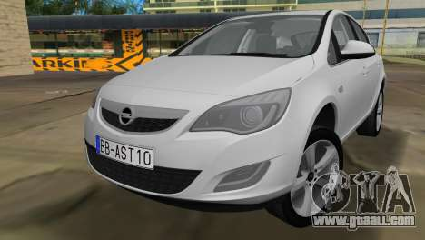 Opel Astra 2011 for GTA Vice City