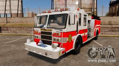 Firetruck Woonsocket [ELS] for GTA 4