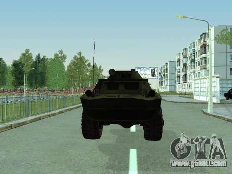 BRDM 2 for GTA San Andreas back left view