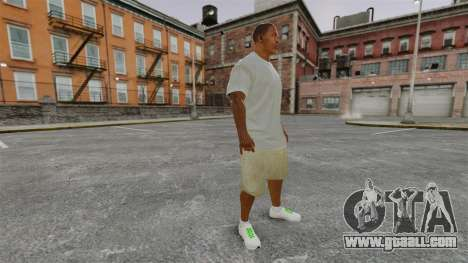 Franklin Clinton v3 for GTA 4 second screenshot
